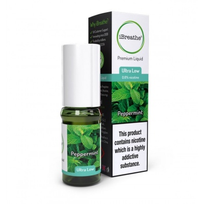 PEPPERMINT iBreathe Premium E-Liquid 10ml